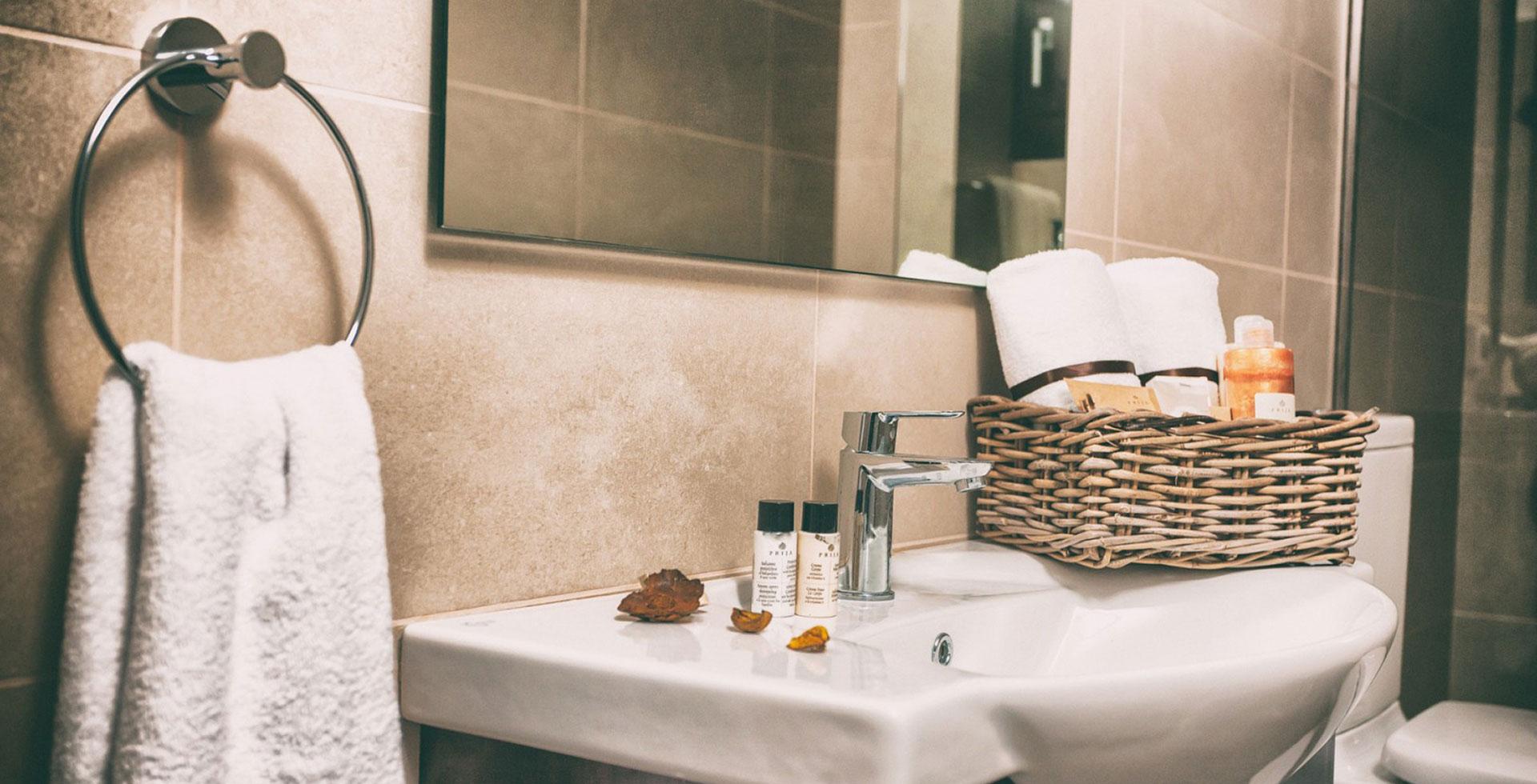 Το μπάνιο του Kalas Residence στη Ζάκυνθο
